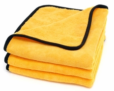 Cobra Gold Plush Jr. Microfiber Towels 3 Pack <font color=red>Buy the 3-pack, Get a 4th towel FREE!</font>