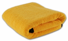 Cobra Gold Plush XL Microfiber Towel, 25 x 36 inches