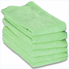 Cobra Lime Green Microfiber Towels 6 Pack