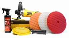 DeWalt DWP849X Variable Speed Rotary Polisher 8.5 inch Pad Kit