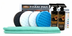 Dual Action 6.5'' CCS Foam Pad Kit