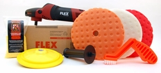 FLEX PE14-2-150 Rotary Polisher Starter Kit<font color=red> FREE BONUS</font>