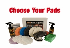 FLEX XC3401 VRG Dual Action 6.5 inch Pad Kit - Choose Your Pads! <font color=red>FREE BONUS</font>