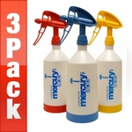 Kwazar Mercury Pro + 1 Liter Spray Bottle (33 oz.) - 3 Pack