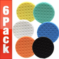 Lake Country 6.5 Inch CCS Pads 6 Pack - Your Choice!