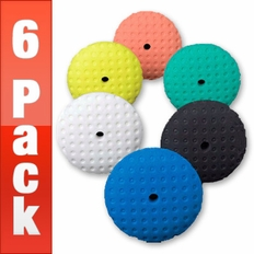 Lake Country 7.5 Inch CCS Pads 6 PACK  - Your Choice!