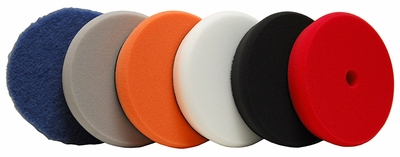 Lake Country Hybrid Power Finish 6.5 Inch Pads