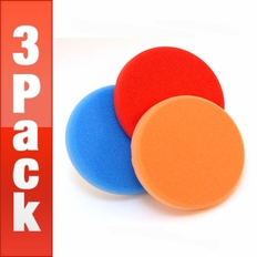 Lake Country Hydro-Tech 5 1/2 x 7/8 Inch Foam Pads 3 Pack - Your Choice!