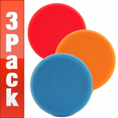 Lake Country Hydro-Tech 6.5 Inch Foam Pads 3 Pack, Your Choice!