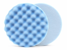 Lake Country Waffle Pro 6.5 Inch Blue Finessing Pad