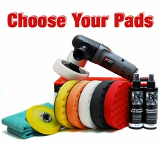 Porter Cable 7424XP & CCS Pad Kit  - Choose Your Pads! <br><font color=red>FREE BONUS</font>