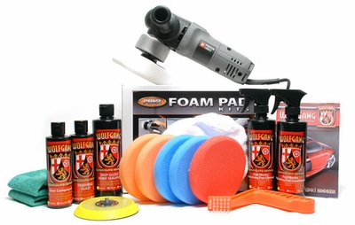 Porter Cable 7424XP Dual Action Polisher & Accessories