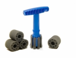 Recessed Wheel Lug Nut Brush Combo
