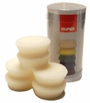 Rupes 40 mm (1.5 inch) White Finishing Foam Pad 6 Pack