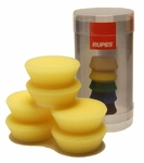 Rupes 40 mm (1.5 inch) Yellow Polishing Foam Pad 6 Pack
