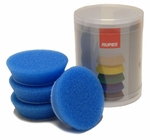Rupes 70 mm (2.75 inch) Blue Coarse Foam Pad 4 Pack