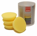 Rupes 70 mm (2.75 inch) Yellow Polishing Foam Pad 4 Pack