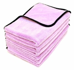Super Plush Deluxe Microfiber Towels 6  Pack