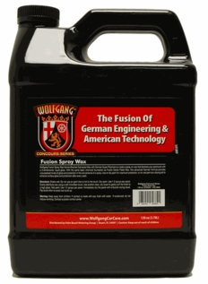 Wolfgang Fuzion Spray Wax 128 oz.