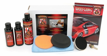 Wolfgang Plastik Lens Cleaning System Headlight Lens Polishing Kit