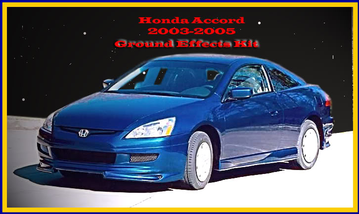 Honda Accord Coupe Ground Effects On Honda Images  Tractor