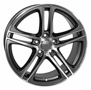 "17"" Fits Audi - R8 wheels - Gunmetal 17x7.5 SET"