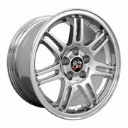 "17"" Ford� Mustang� 10th Anniv. Deep Dish Wheels - Chrome 17x9 SET"