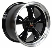 "17""  Ford� Mustang� Bullitt Style Wheels - Black  17x8 Set"