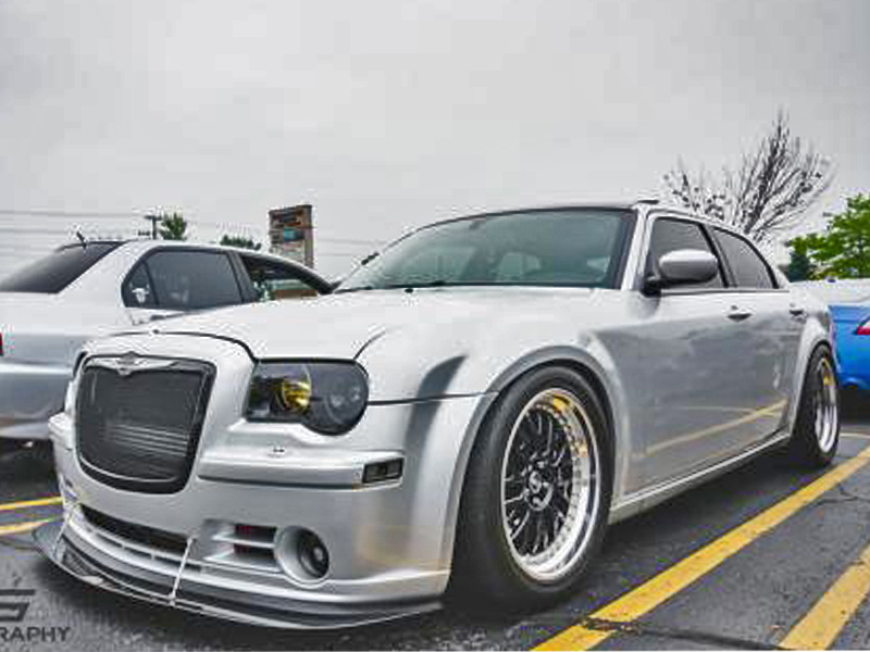 chrysler 300c srt8 front wind splitter 2005 2010. Black Bedroom Furniture Sets. Home Design Ideas