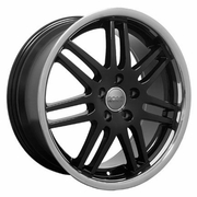 "18"" Audi RS4 Deep Dish wheels - Black 18x8 SET"
