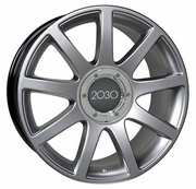 "18"" Audi RS4 Wheels - Hyper Silver 18x8"