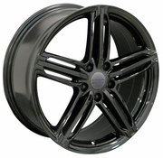 "18"" Audi RS6 wheels - Black 18x8 SET"