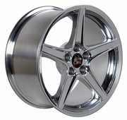 "18"" Fits Ford� Mustang� Saleen Style Wheels - Polished 18x9 SET"