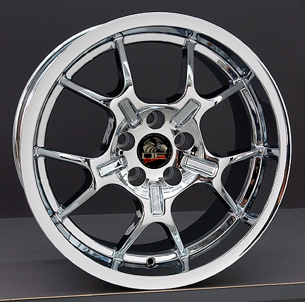 18 Quot Ford 174 Mustang 174 2005 Gt4 Wheels Chrome 18x10 18x9 Set
