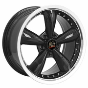 "18"" Ford� Mustang� Bullitt Style Deep Dish Wheels - Black 18x9 SET"