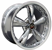 "18"" Ford� Mustang� Bullitt Style Deep Dish Wheels Chrome 18x9 SET"