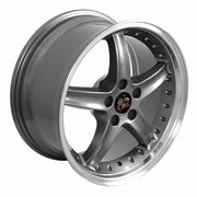 "18"" Ford� Mustang� Cobra R Deep Dish Wheels - Gunmetal 18x9 SET"