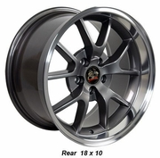 "18"" Ford� Mustang� FR500 Style Wheels - Anthracite"
