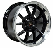 "18"" Ford� Mustang� FR500 Wheels - Black 18x10 / 18x9 SET"
