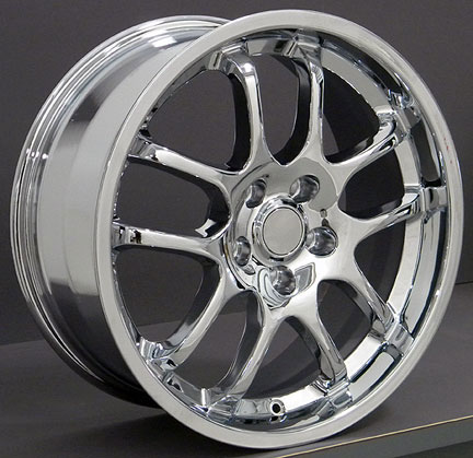 18 Quot Infiniti Nissan G35 Sedan Wheels Chrome 18x8 Set