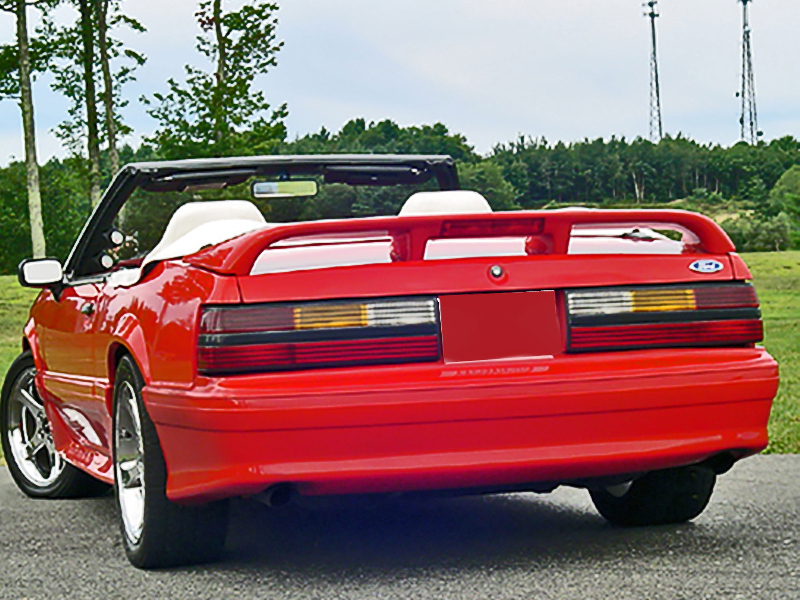 Image result for 1993 red sports car with spoiler