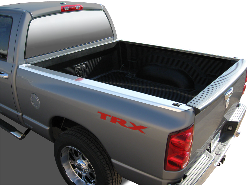 Truck Bed Cargo Net >> 1997-2006 Ford F150 L/B SR-Series Stainless Steel Bed Caps