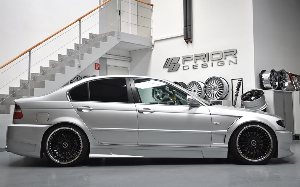 Bmw 3 Series Sedan Body Kit Bmw Prior Design Bmw 3 E46