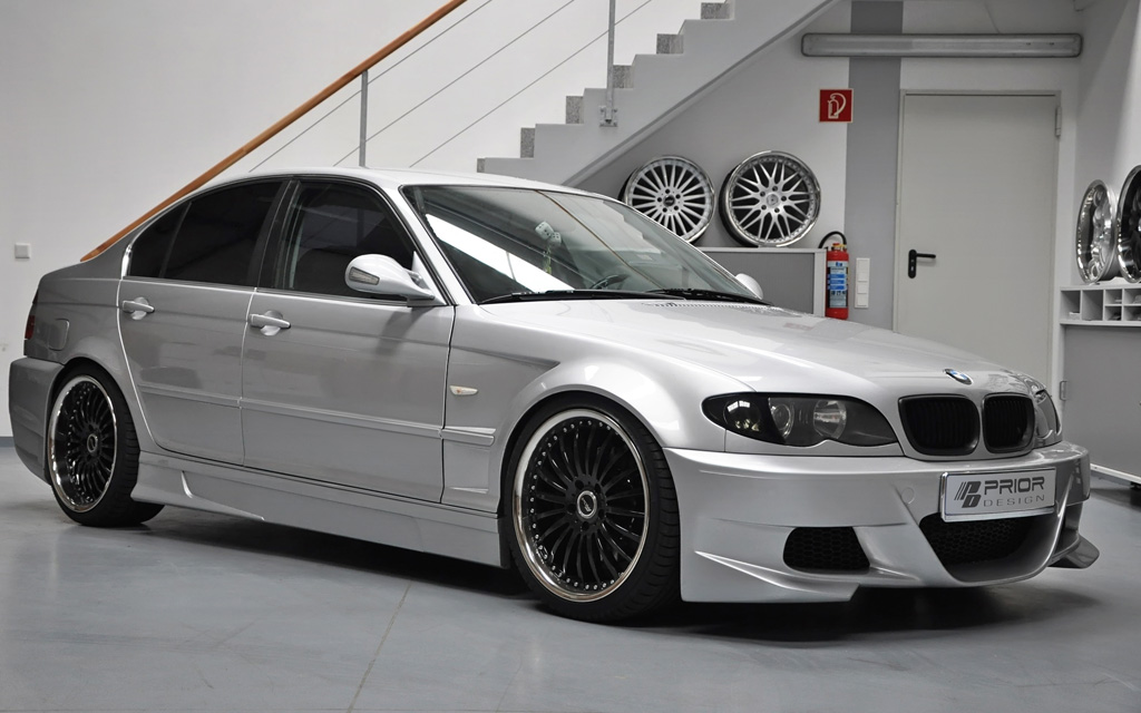 bmw 3 series sedan body kit bmw prior design bmw 3 e46 sedan aero kit. Black Bedroom Furniture Sets. Home Design Ideas
