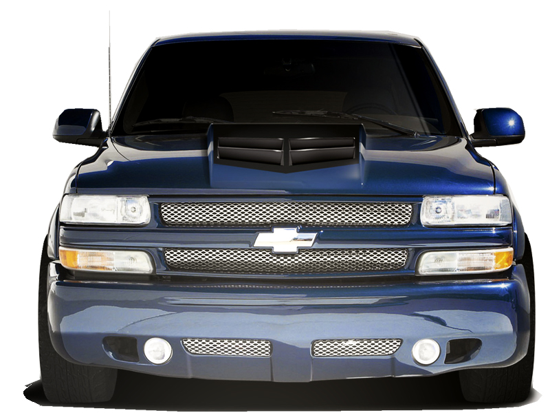 1999 2002 chevrolet silverado duraflex zl1 look hood. Black Bedroom Furniture Sets. Home Design Ideas