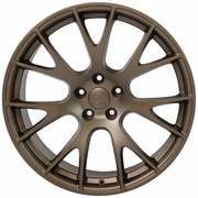 "20"" Dodge Hellcat Wheel Replica - Bronze 20x9 SET"