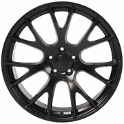 "20"" Dodge Hellcat Wheel Replica - Matte Black 20x9 SET"