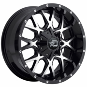 "20"" Fits Ford� - Dropstars Offroad 645MB Wheels - Gloss Black 20x9 - SET"