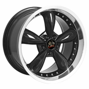 "20"" Ford� Mustang� 2005 Bullitt Deep Dish Wheels Black 20x10 / 20x8.5 SET"