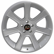 """20"""" Ford� Mustang� 2005 Saleen Wheels Silver 20x10 REAR PAIR"""